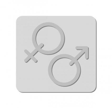 Gender Sign Symbol clip art