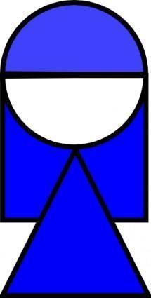 free vector Girl Symbol clip art