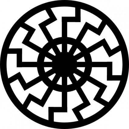 Sunwheel clip art