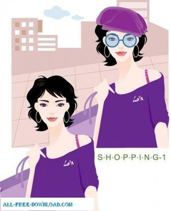 Free fashion vector 382