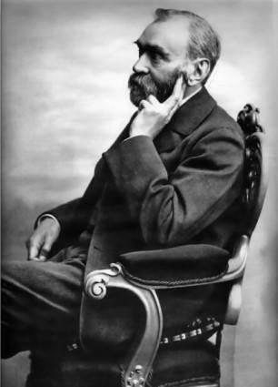 Alfred Nobel clip art