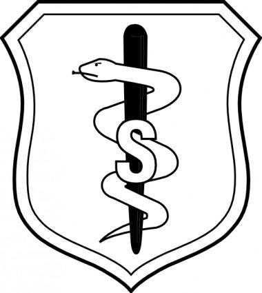 United States Air Force Biomedical Sciences Corps Badge clip art