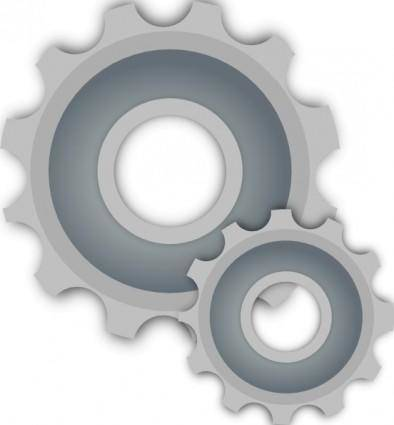 free vector Gears clip art