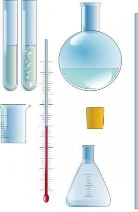 Organick Chemistry Set clip art