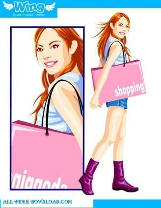 Free fashion vector 389