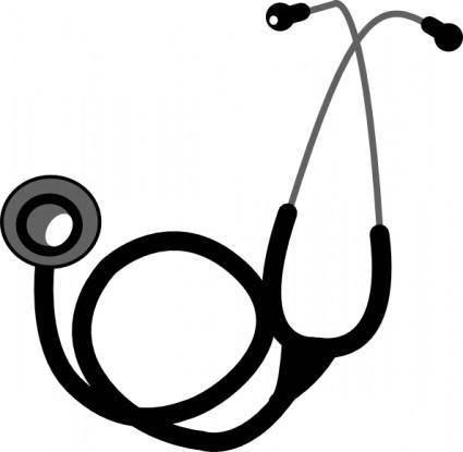 free vector Stethoscope clip art