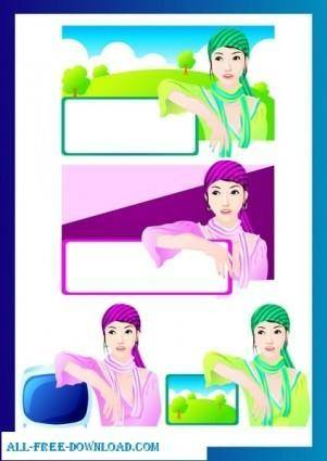 Free fashion vector 393