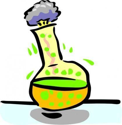 Chemical Experiment clip art