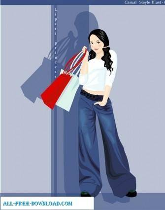 free vector Free fashion vector 398