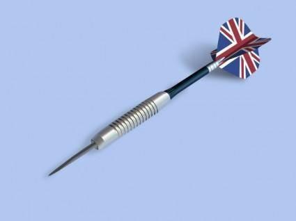 free vector Summerstyle Darts clip art