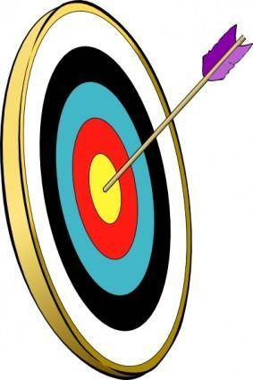 Arrow In The Gold clip art