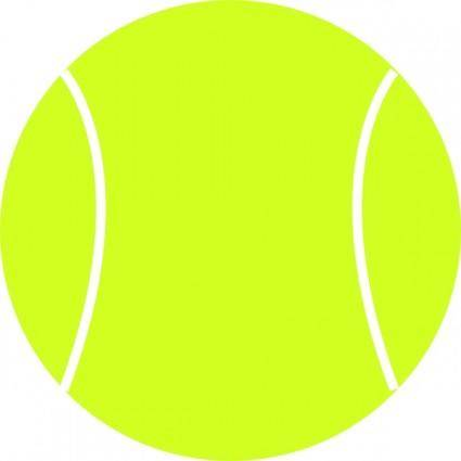 free vector Tennis Ball clip art