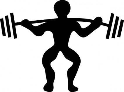 free vector Motudo Powerlifting clip art
