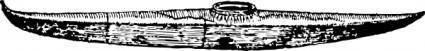 Kayak Boat clip art
