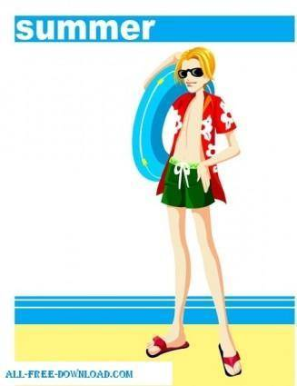 Free fashion vector 409