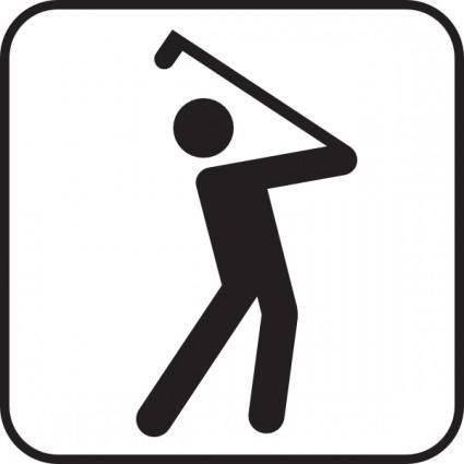 free vector Golf Course clip art