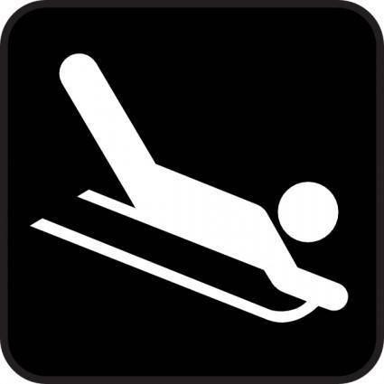 Ski Ice clip art