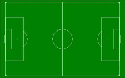 free vector Soccer Field Football Pitch clip art