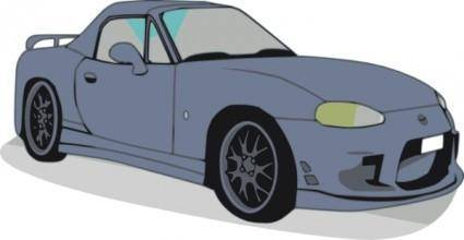 free vector Mazda Car clip art