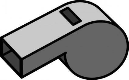 Whistle clip art