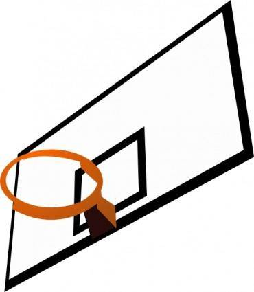 free vector Basketball Rim clip art