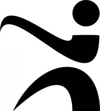 Karate Logo clip art