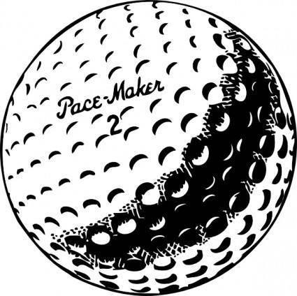 Golfball clip art