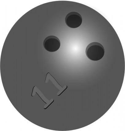 Bowlingball clip art
