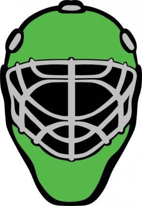 Hockey Baseball Racer Mask clip art