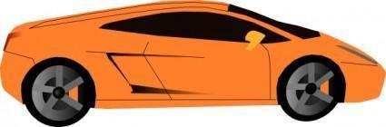 free vector Lamborghini clip art