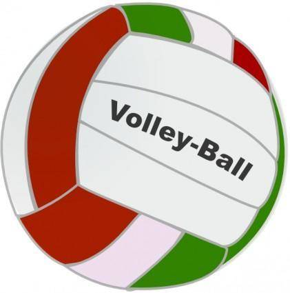 free vector Volley Ball clip art