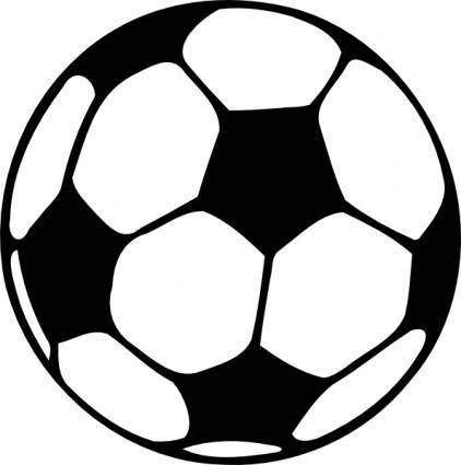free vector Football Ball clip art