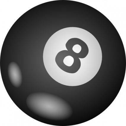 free vector 8ball clip art