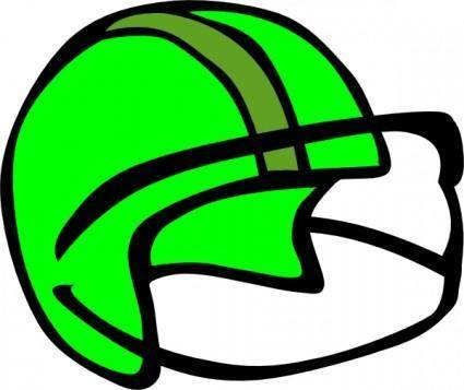 free vector Football Helmet clip art