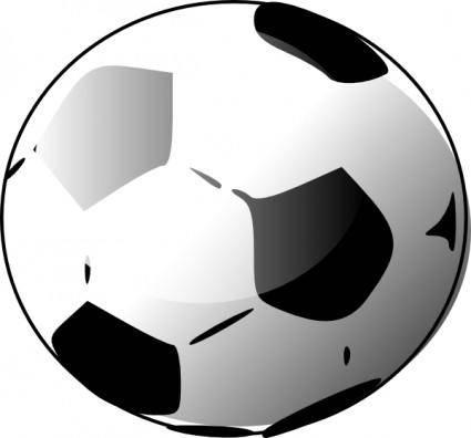 Soccer Ballon clip art