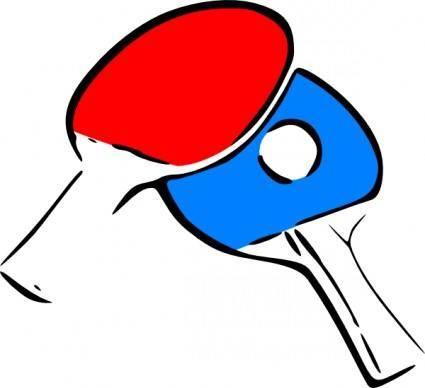free vector Table Tennis clip art