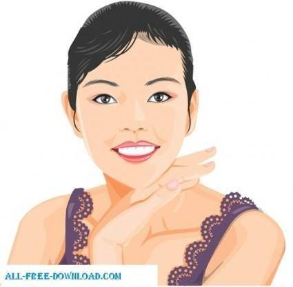 Free fashion vector 423