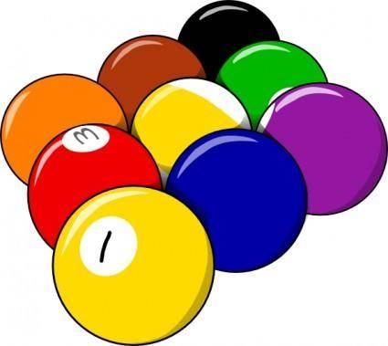 free vector 9 Ball Form clip art