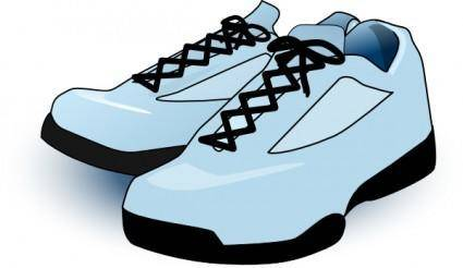 free vector Tennis Shoes clip art