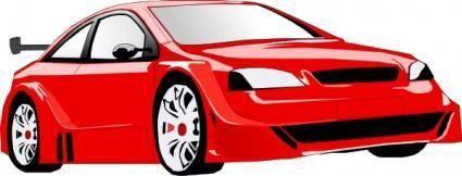 free vector Sportcar clip art