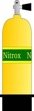 free vector Nitrox Scuba Tank clip art