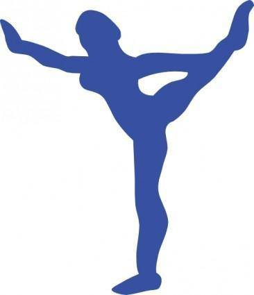 free vector Gymnastic clip art