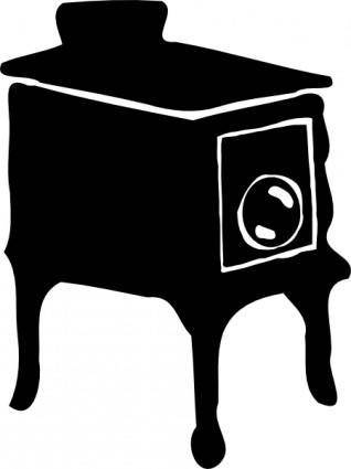Old Style Stove clip art