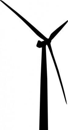 free vector Wind Turbine clip art