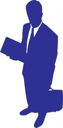free vector Business Man clip art