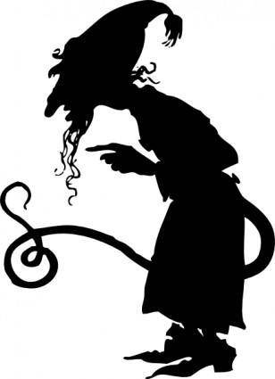 Stranger With A Tail clip art