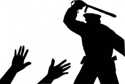 Police Brutality clip art