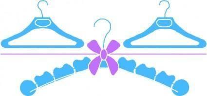 free vector Clothes Hangers clip art