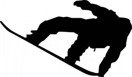 Snow Boarder clip art