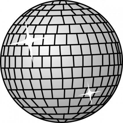 free vector Disco Ball clip art